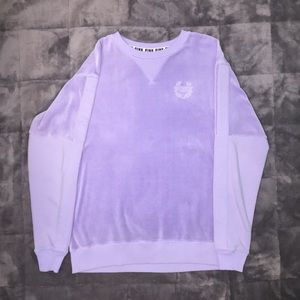 PINK Victoria's Secret Lavender Pullover sweater